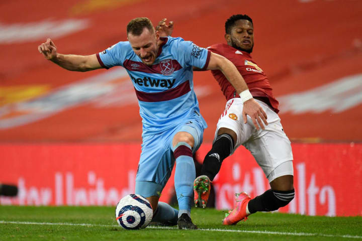 Vladimir Coufal was solid at right back for West Ham