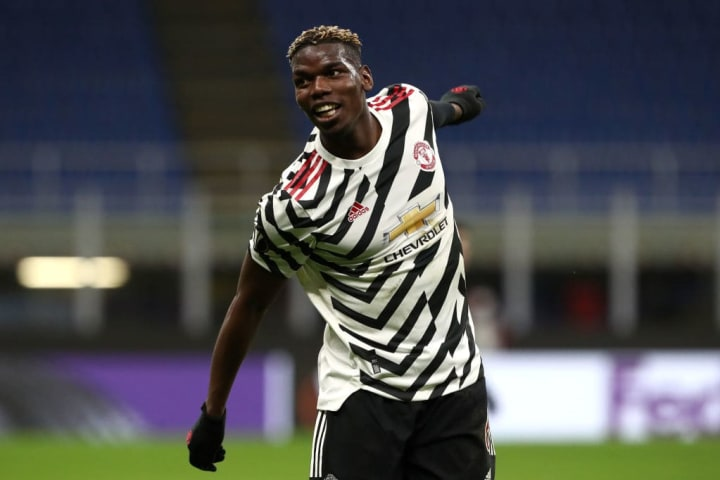 Paul Pogba's goal secured United's place in the Europa League last 16