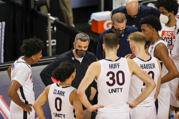 Virginia is one of several teams that has had coronavirus issues leading up to the tournament.